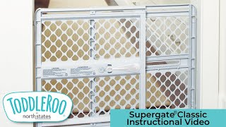 Supergate® Classic Instructional Video Toddleroo by North States