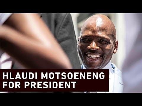 Hlaudi: I'm going to run and lead as the president of SA