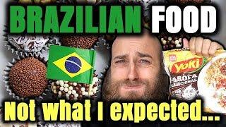 VLOG | An Aussie tries BRAZILIAN FOOD - Part 1 | Brazilian vs Australian Food | Food & Culture - Video Youtube