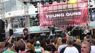 """Young Guns """"Brother in Arms"""" Shiprocked Cruise 2014, NCL Pearl 1/29/14 live concert"""