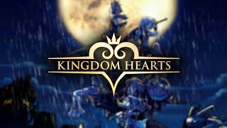 Kingdom Hearts • Relaxing Music (+) Rainstorm Sounds