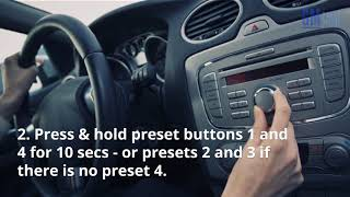 How to Unlock Your GMC Radio Without Paying a Dime