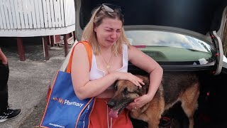 Saying Goodbye to Our Dog ** Very Emotional**