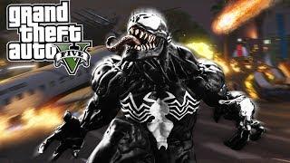 O MELHOR MOD DO VENOM &/ PODERES !!! (GTA 5 Mods)