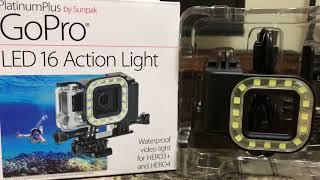 Sunpak LED RING WITH GOPRO HERO 5 BLACK