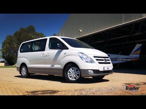 Hyundai  H1 Минивен класса M - тест-драйв 3