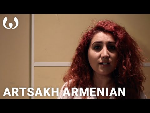 """WIKITONGUES: Irina speaking Artsakh Armenian"""