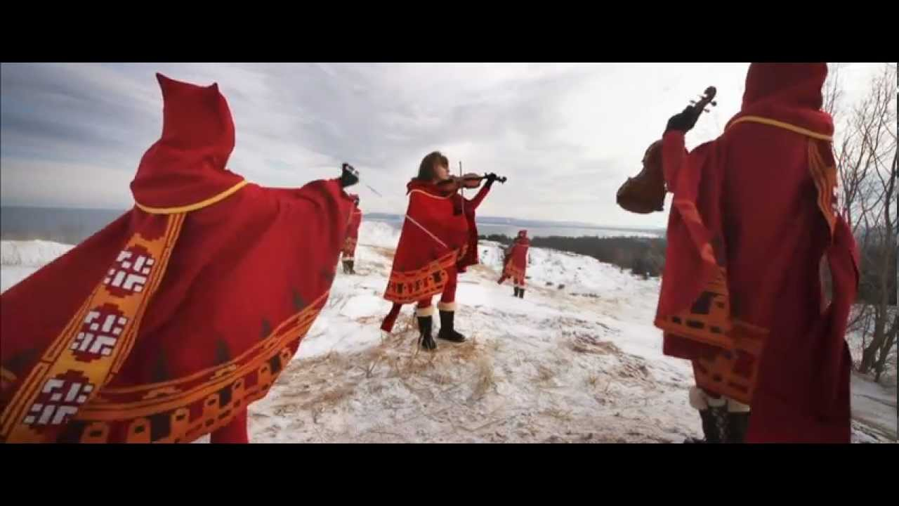 Epic Violinists Dressed Up As Journey Characters Epically Playing Journey Music