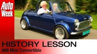 YouTube: Geschiedenisles Mini Cabrio