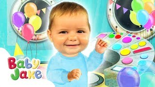 Baby Jake - Magic Buttons | Full Episodes | Yaki Yaki Yogi | Cartoons for Kids