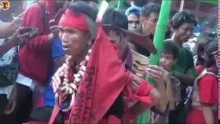 Aksi Menegangkan Dari Pasukan Merah Laskar Bangkule Rajakng