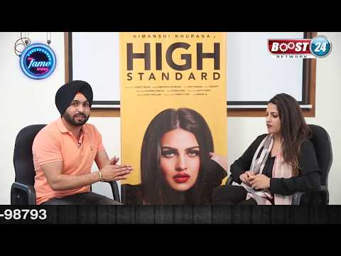 Exclusive Interview with Himanshi Khurana on her new song High Standard