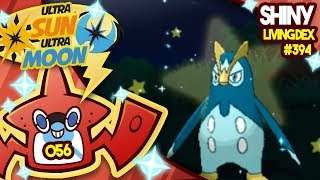 INSANE LUCK SHINY PRINPLUP! ISLAND SCAN! Quest For Shiny Living Dex #394   USUM Shiny #056