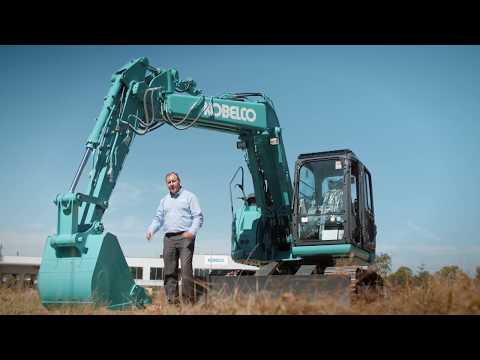 SK135SR-5 Midi Excavators | Tier 4 Final Engine | Kobelco