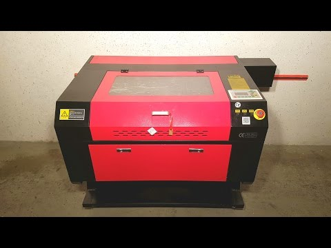 Laser 80W Co2 Engravor Lasercutter high precision China 60W - [Unboxing! 4K]