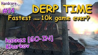 WOT: Magic 7, the fastest close 10k game i ever saw [DERP KINGS 14] WORLD OF TANKS