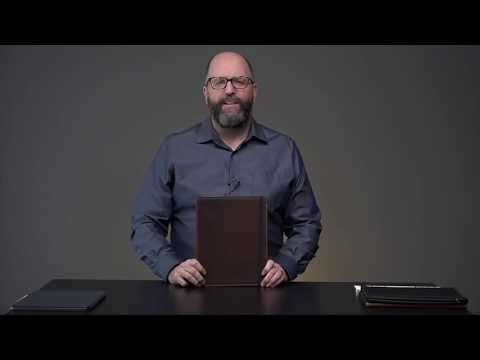 Oxford Leather iPad Pro 12.9 3rd Gen Case Video