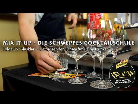 Mix it Up 05: Glasklar- Die passenden Gläser für Deine Drinks