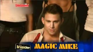 EW Photoshoot - Magic Mike Cast