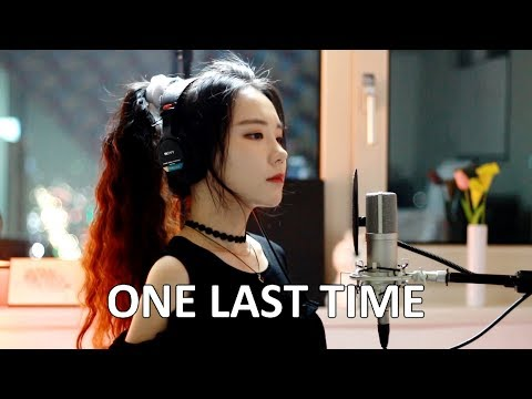 Me Singing – One Last Time by Ariana Grande – J.Fla cover