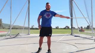 THE KEY TO AN EFFICIENT THROW (Hammer Throw Technique)