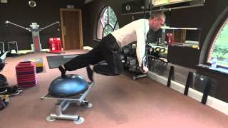 Full body workout with gymnastic rings / coordination / strength training- passionfitness.eu