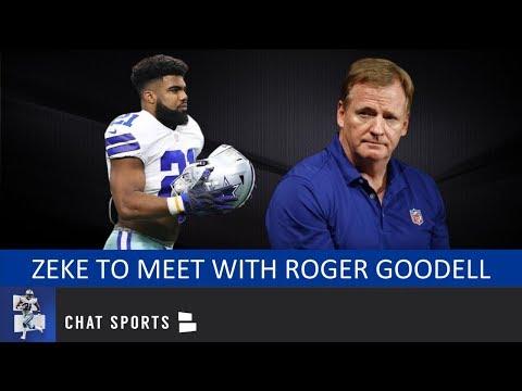 Cowboys News: Ezekiel Elliott To Meet With Roger Goodell