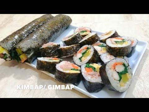 KIMBAP /HOW TO MAKE GIMBAP / SILVANA COCINA ❤