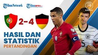 Highlight & Hasil Pertandingan Euro 2020 Portugal 2-4 Jerman, Hujan Gol Terjadi di Allianz Arena
