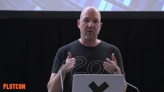 PLOTCON 2016: Scott Draves, Polyglot Visualization with the Beaker Notebook