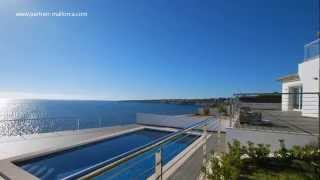 preview picture of video 'Neue Luxus-Villa mit herrlichem Meerblick #Mallorca'