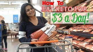 Ultimate Keto Budget Plan | Grocery Haul + Full Day of Meals!