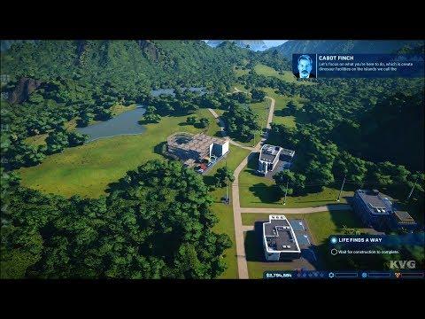Jurassic World Evolution Gameplay (Xbox One X HD) [1080p60FPS]