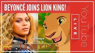 THE LION KING 2019 BEYONCÉ LIVE ACTION CAST ANNOUNCED!