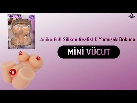 Anika Full Silikon Realistik Yumuşak Dokuda Mini Vücut