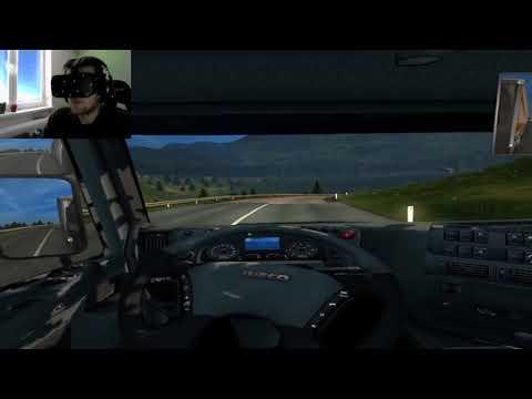 Šťastný nový Rok! - Bajty řídí kamion [EuroTruck Sim 2 + Oculus Rift)