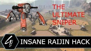 """War Robots - RAIJIN IN THE SKY """"CHEAT"""" - Tips & Tricks"""