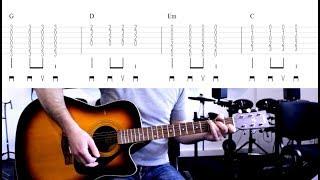5 Minutes Avec Toi   Amir (tuto Guitare)