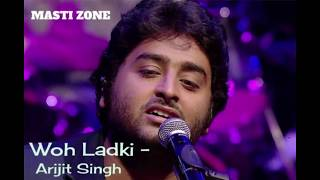 Arijit Singh : Woh Ladki Video Song | Andhadhun  Movie