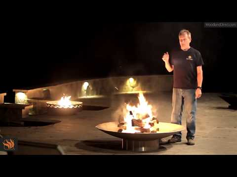 How to Start a Fire in your Wood Burning Fire Pit