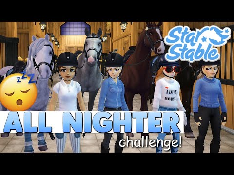 Star Stable - Never Do an All Nighter Challenge 😴💤