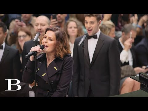 Alison Moyet performs 'Only You' Live at The Burberry S/S16 Womenswear Show