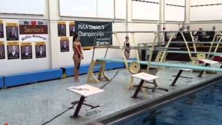 More District 3-AAA girls' diving