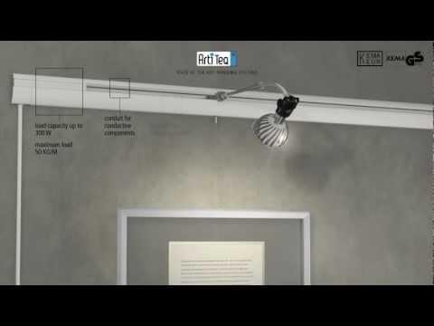Монтаж галерейной системы PRO Light
