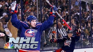 NHL Stanley Cup Playoffs 2019: Lightning vs. Blue Jackets   Game 3 Highlights   NBC Sports