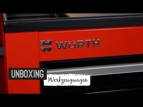 Unboxing Würth Werkzeugwagen Zebra S7 131-teilig