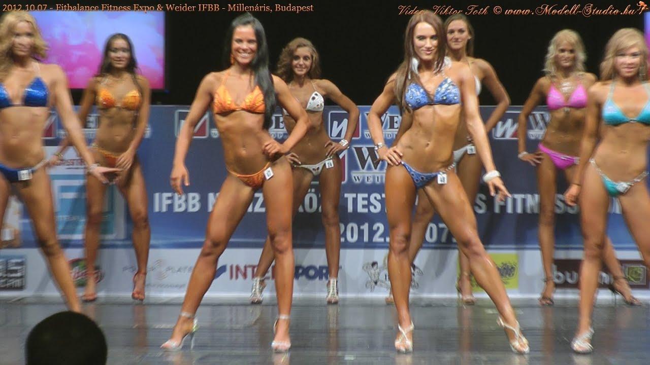 2012.10.07 Weider IFBB WOMEN's BodyFitness, Bikini Fitness Model – Millenáris, Budapest. HD