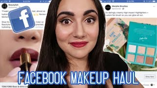 I Bought A Full Face Of Makeup From Facebook Ads - Video Youtube