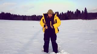 Зимний костюм для рыбалки payer