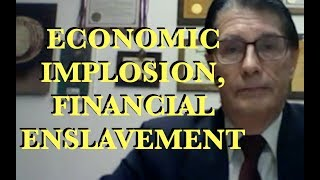Senate Candidate: Economic Implosion is Inevitable